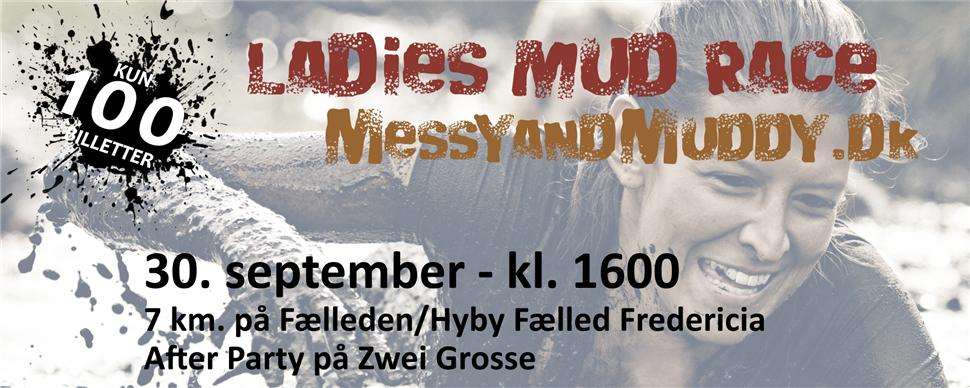 Ladies Mud Race forside
